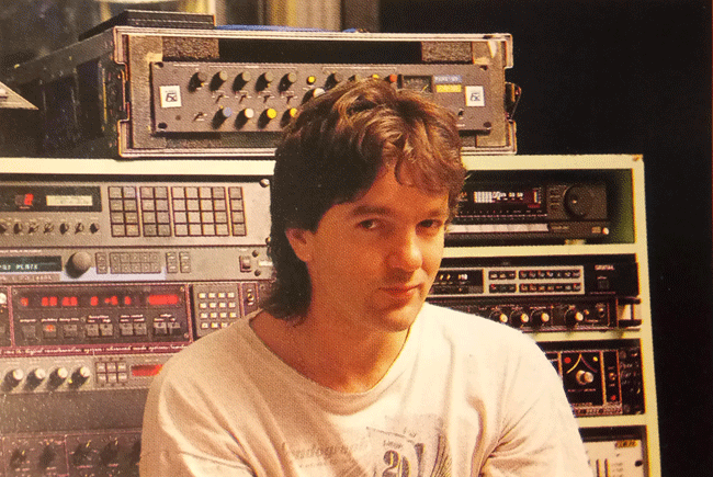 Ted Hayton, Air Studios 1988